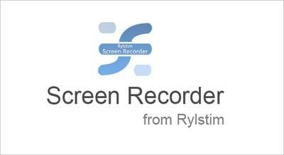 Screen Recorder from Rylstim