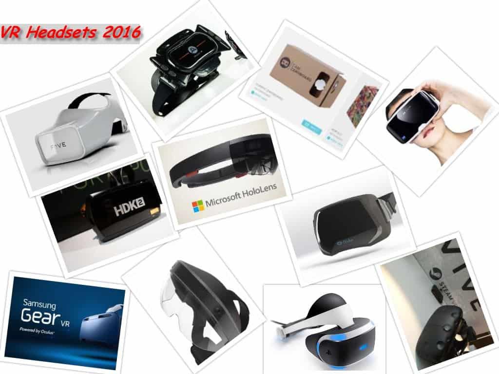 VR Headset 2016