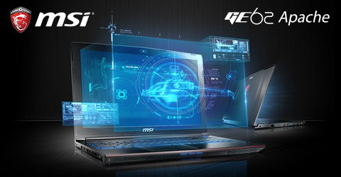MSI GE62 APACHE-002 Gaming Laptop