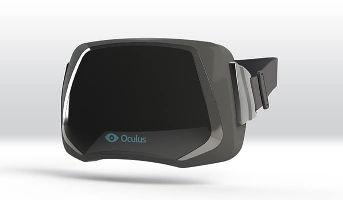 VR Headset from Oculus Rift