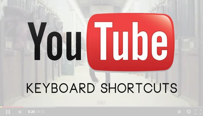 Youtube Keyboard Shortcuts