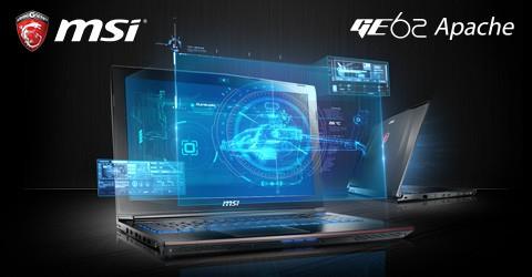 MSI GE62 APACHE-002 Gaming Laptop