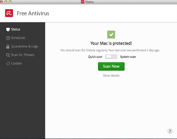 Avira AntiVirus for Mac