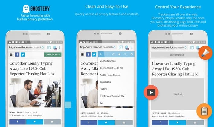 Ghostery Web Browser