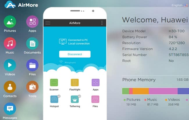 How To Use AirMore App For Android